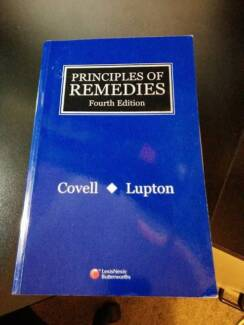 Principles of Remedies - Covell and Lupton - 4th Ed Sydney City Inner Sydney Preview