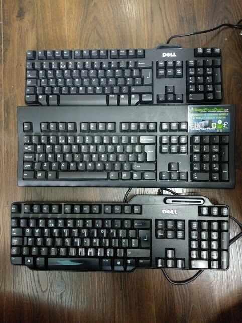 USB KEYBOARDS - DELL, HP, LENOVO - PS/2 KEYBOARDS ALSO IN STOCK