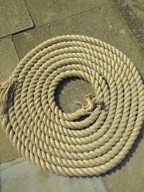 28mm Synthetic Hemp Rope 180 metres