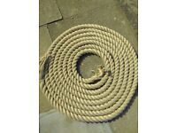 28mm Synthetic Hemp Rope 180 metres