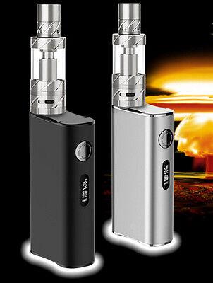 100W Electronic Vape E Pen Cigarettes 5900Mah Shisha Vapor Kit   3 Extra Coils