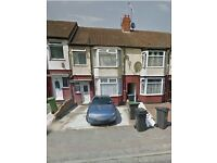 REFURBISHED THREE BEDROOM HOUSE..Myletz are proud to offer this three bedroom house on Runley Road
