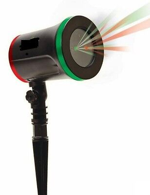 Star Night Christmas Red/Green Light Shower Star With 8 Modes as Seen TV