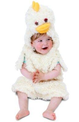 ★ Party Baby Chicken Hänchen Huhnkostüm Hühnchen KinderKostüm Kinder Uhu 80-104 ()