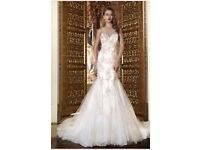 Designer Statement Wedding Dress size 8-10