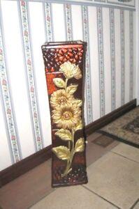 """Decorative 24"""" Ceramic Vase in good condition"""