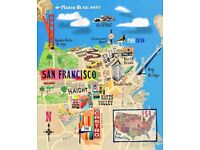 2 flights from Manchester to San Francisco 19th Feb until 1st March