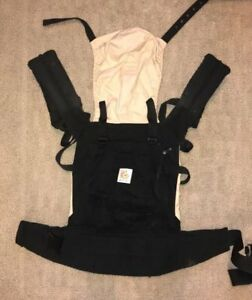 Ergo baby 3-Position Baby Carrier in Black/Camel