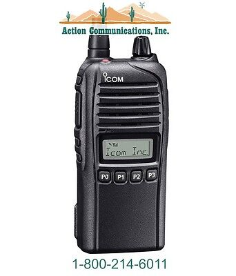 New Icom Ic-f3230ds-13 Vhf 136-174 Mhz 5 Watt 128 Channel Two Way Radio