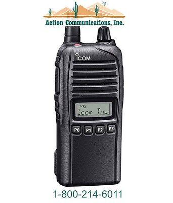 New Icom Ic-f3230ds-13 Vhf 136-174 Mhz 5 Watt 128 Channel Two Way Radio