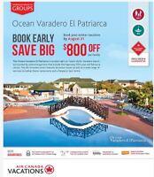 Book Early, Save Big. CUBA Ocean Varadero El Patriarca