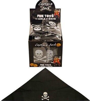 1x kids PIRATE HAT BANDANA skull Funcy Dress party costume dress up children ()