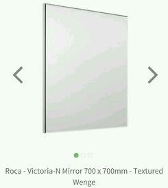 Price lowered*** Roca bathroom mirror and light **still in box**
