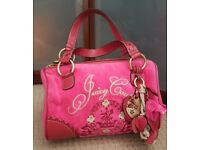 Juicy couture pink terry hand bag. 100% genuine