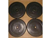 Vinyl Plates Weights 10 20 30 40 KG Kilo