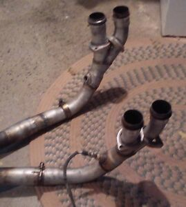 Jaguar XJS V12 European type exhaust system complete West Island Greater Montréal image 2