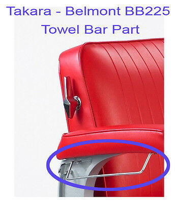 Takara Belmont Elegance Bb-225 Barber Chair Towel Bar Rep...