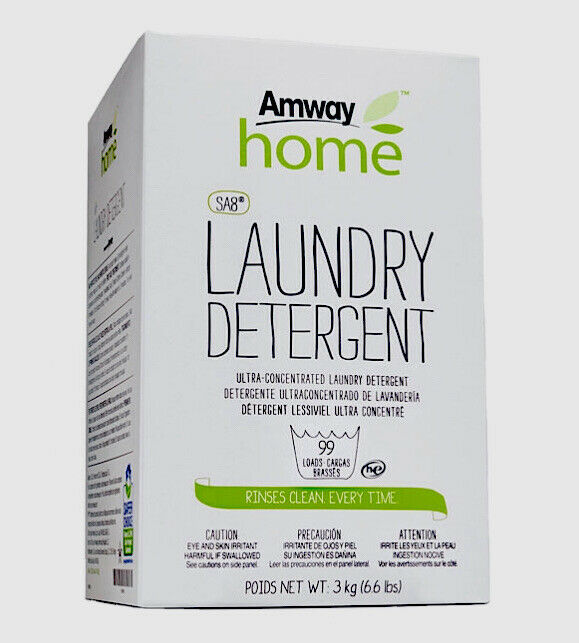 Amway Home SA8 Powder Laundry Detergent Chlorine Free Kosher*Certified 6.6 lbs*