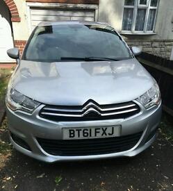 2012 CITROEN C4 1.6 HDI VTR, TURBO DIESEL, LOOKS & DRIVES GREAT £2750