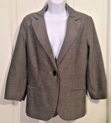 Used, Cabi Barrister Blazer Career Womens Size 8 One Button Jacket Classy Work Attire for sale  Ventura