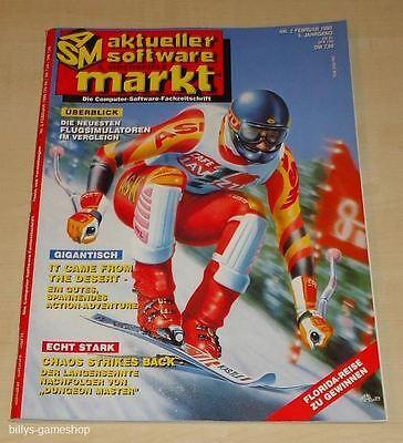 ASM Aktueller Software & Videospiele Markt !! Ausgabe 2/90 !! Rarität !!!! online kaufen