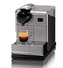 Used Nespresso Delonghi Lattissima Touch Coffee Machine & Nespresso coffee Pods capsules.