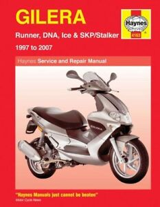 GILERA SCOOTERS: SERVICE AND REPAIR MANUAL., Mather, Phil., Used; Very Good Book
