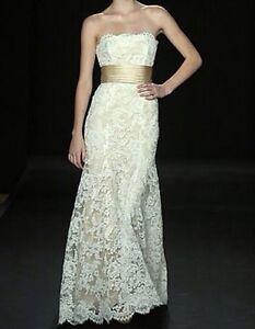 Monique lhuillier monet robe de mariage ebay for Monique lhuillier robes de mariage