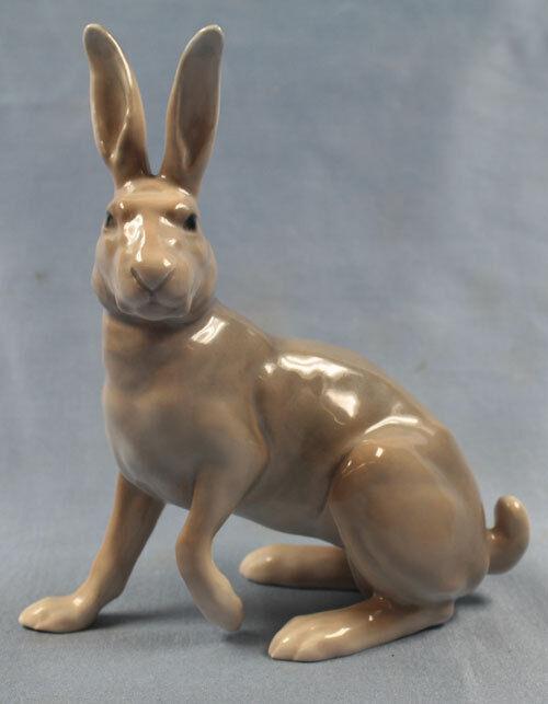 large rabbit porcelainfigurine animal figurine bing gröhndahl porcelain rare