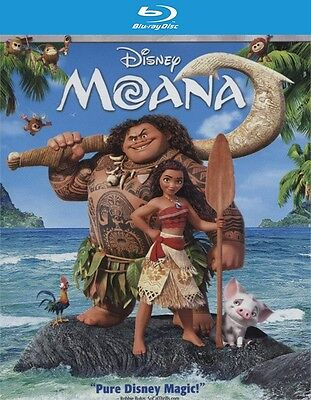 Moana  Blu Ray Disc Only  2017