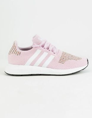 Brand New WOMENS ADIDAS PINK SWIFT RUN TEXTILE Sneakers Retro Size 6