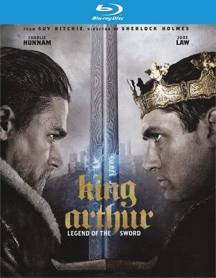 King Arthur  Legend Of The Sword  Blu Ray Disc Only  2017