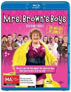Mrs. Brown's Boys: Series Season 3 (Blu-ray, 2013), NEW SEALED REGION 4 AU