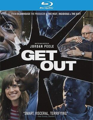 Get Out  Blu Ray Disc Only  2017