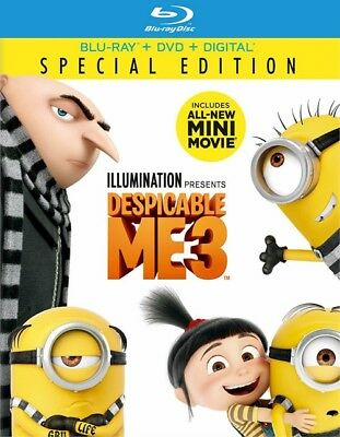 Despicable Me 3  Blu Ray Disc Only  2017