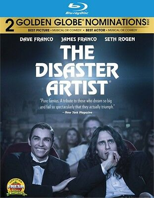 The Disaster Artist (Blu-ray Disc ONLY, 2018) (The Artist)