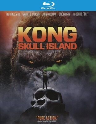 Kong  Skull Island  Blu Ray Disc Only  2017