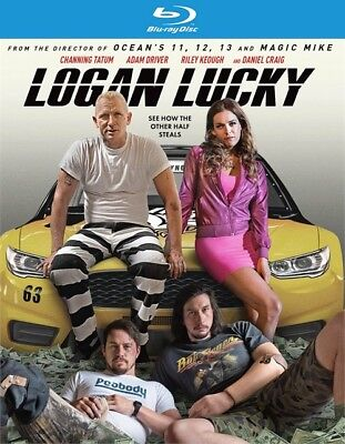 Logan Lucky  Blu Ray Disc  2017