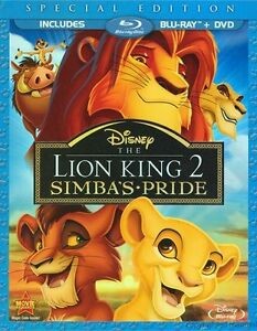 I am looking to buy Disney's Lion King 2 on Blu-Ray