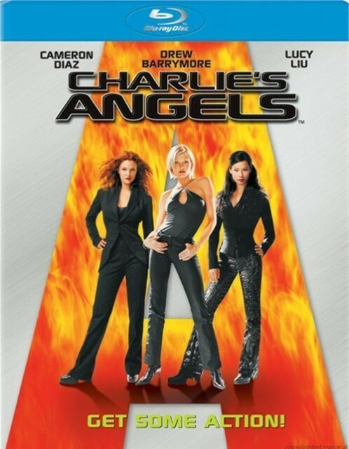 CHARLIE'S ANGELS****BLU-RAY****REGION FREE****NEW & SEALED