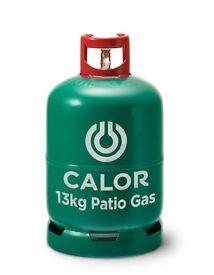 Patio/bbq gas 13kg full