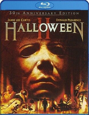 Halloween II 2 (1981) 30th Anniversary Edition | New | Blu-ray Region free (Halloween 2 Blu Ray Special Edition)