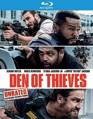 Den of Thieves (Blu-ray Disc ONLY, 2018) - Spanish Halloween Activity