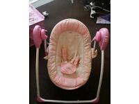 Baby girl's swing