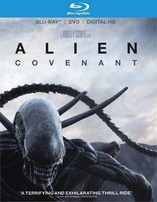 Alien  Covenant  Blu Ray Disc Only  2017