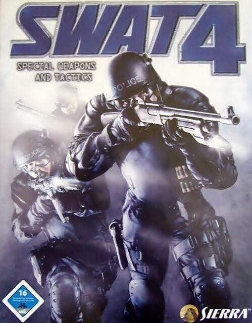 SWAT 4 - Special Weapons and Tactics PC Spiel kpl. DEUTSCH in DVD Hülle