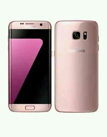 SamsungGalaxy S7 edge pink gold Brandnew Quick Sale