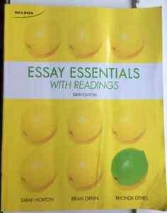 Essay Essentials with Readings Kitchener / Waterloo Kitchener Area image 1