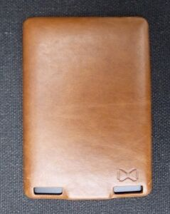 Leather Hardshell Case Cover Brown for Kindle Touch jacket  Bargain Sale