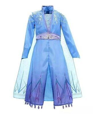 NEW RRP £33 Official DISNEY STORE Frozen 2 Princess ELSA Age 4 Fancy Dress Kids